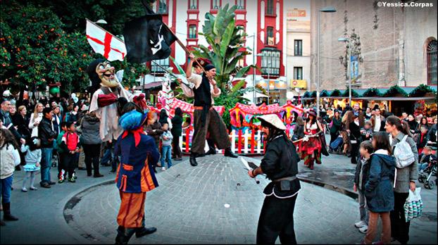 pasacalles-teatro-piratas-quintero-sevillaconlospeques