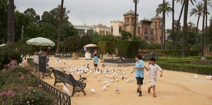 Parques de Sevilla: Parque de María Luisa | Sevilla con los peques