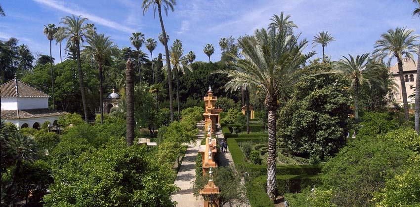 Parques de Sevilla: Jardines del Alcázar |Sevilla con los peques