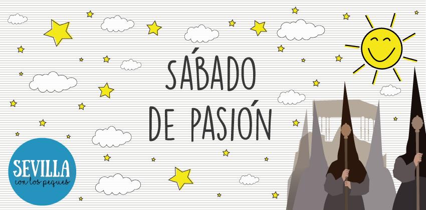Cabecera Sábado de pasión de la semana santa de Sevilla con niños | Sevilla con los peques