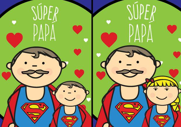 Felicitación dia del padre Súper Papá 00| Sevilla con los Peques