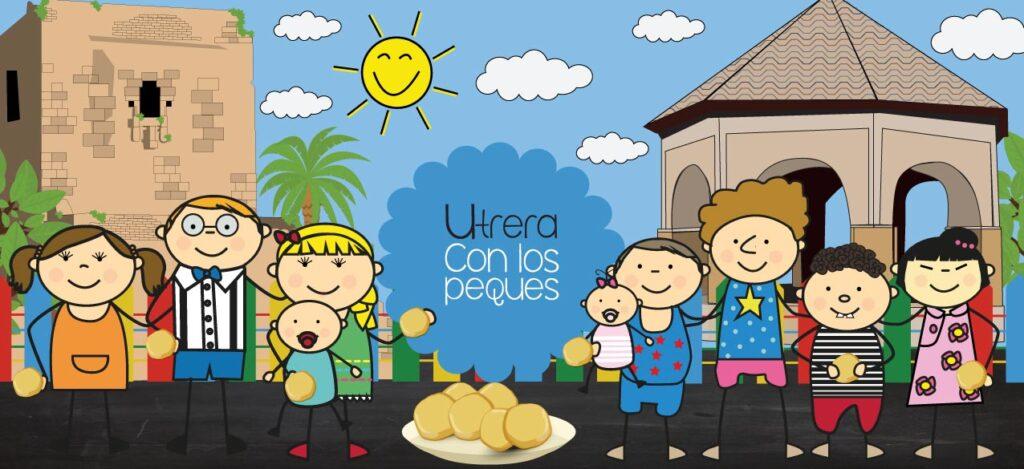 Cabecera de Utrera |Sevilla con los peques