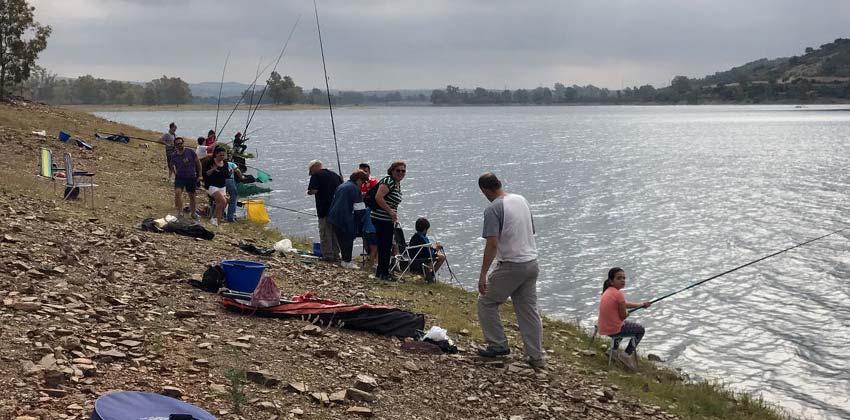 Pescando en los lagos del Serrano | Sevilla con los peques