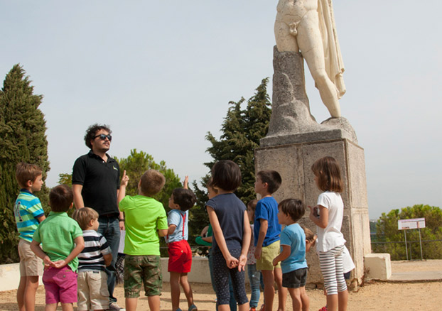 Visitas con legados a Itálica | Sevilla con los peques