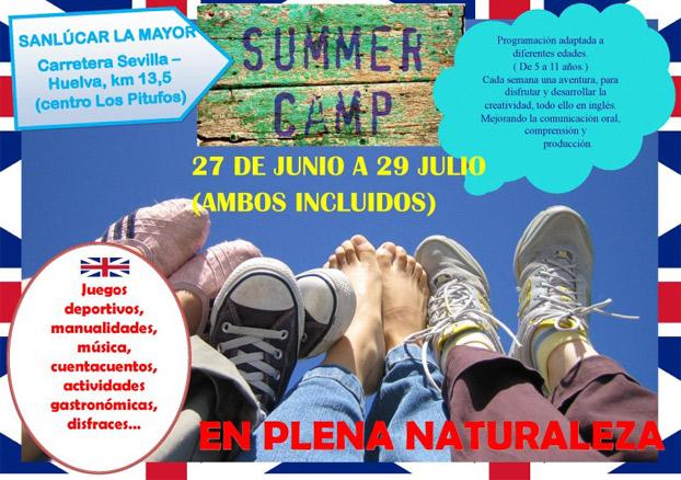 Campamento de Verano Summer Camp Sanlúcar la Mayor |Sevilla con los peques