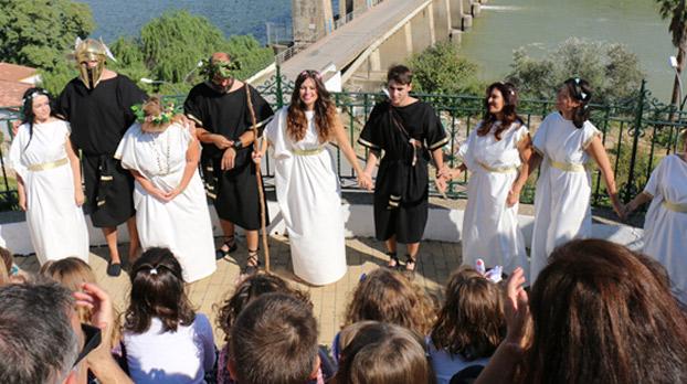 niños-sevilla-alcalá-del-río-jornadas-romanas-sevillaconlospeques