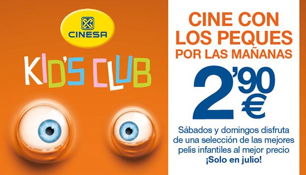 Promoción Cines Cinesa | Sevilla con los peques