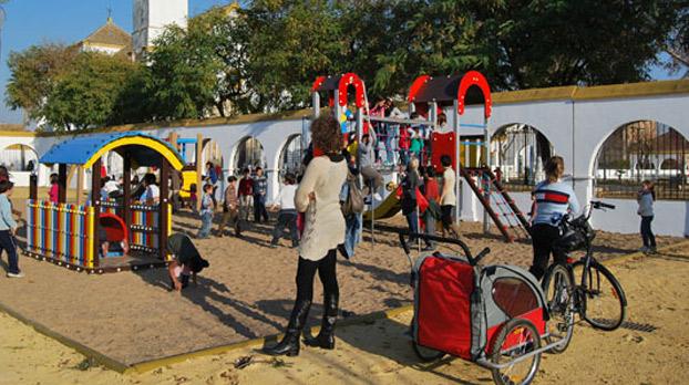 Parque V centenario de Utrera para ir con niños 01 |Sevilla con los peques