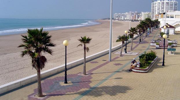 Playa de la Costilla de Rota para ir con niños | Sevilla con los peques