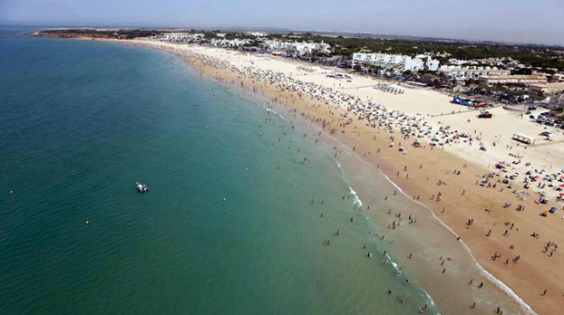 Playa de la Barrosa para ir con niños |Sevilla con los peques