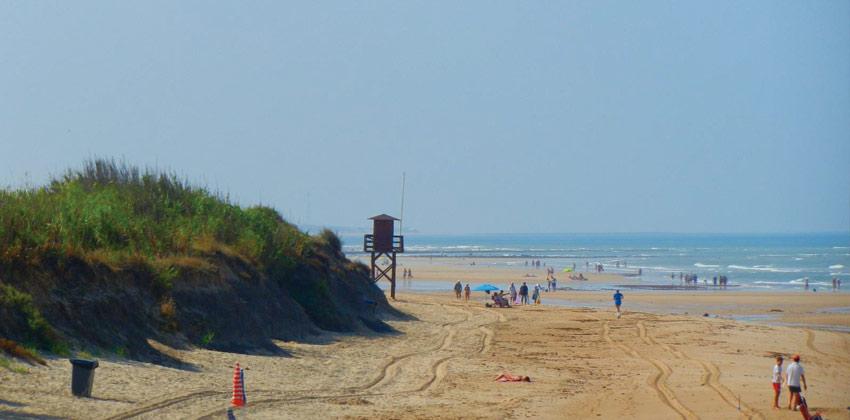 Playas para ir con niños: Playa de CostaBallena