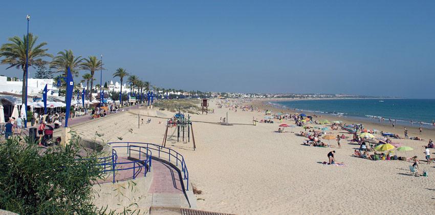 Playas para ir con niños: Playa La Barrosa