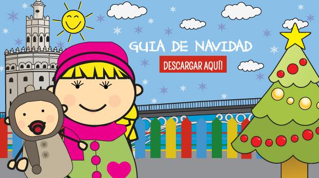 Banner descarga guia de navidad | Sevilla con los peques