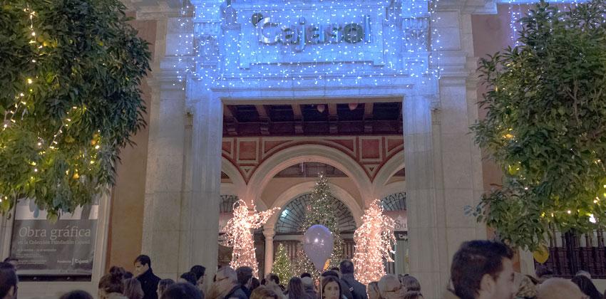 Belenes de Sevilla: Belén Cajasol 00 |Sevilla con los peques