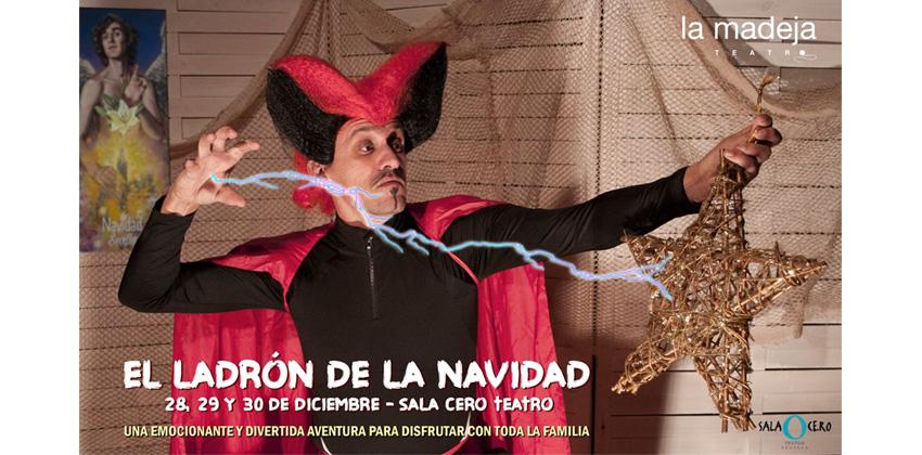 El ladrón de la Navidad en Sala Cero