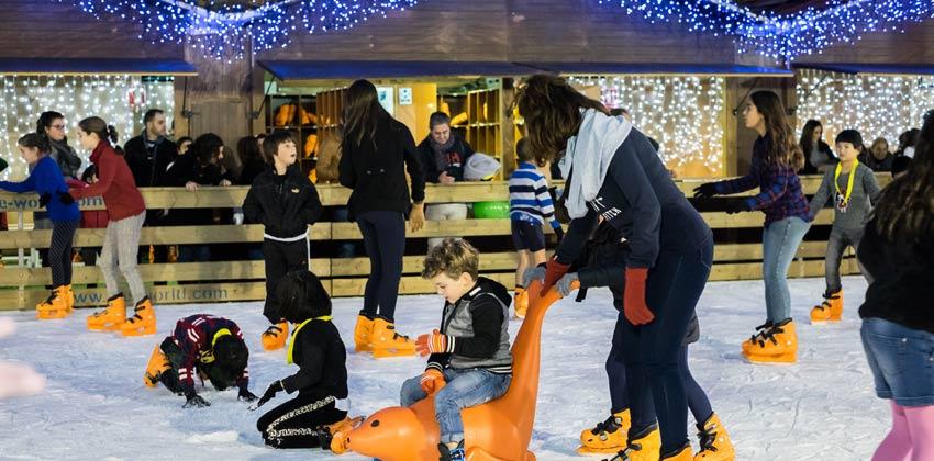 Alameda de Hércules pista de patinaje | Sevilla con los peques