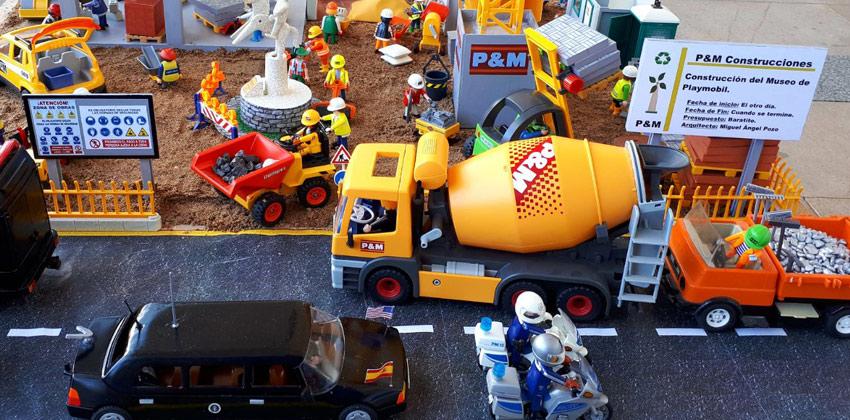 Playmarket exposición de playmobil y mercadillo | Sevilla con los peques