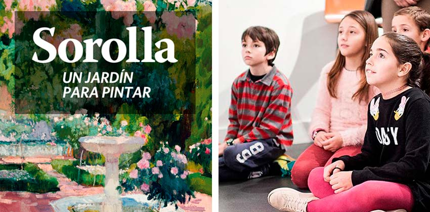 Exposición de Sorolla en CaixaForum Sevilla |Sevilla con los peques
