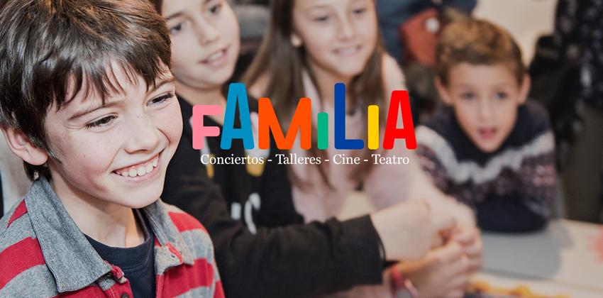 Dia de la familia en CaixaForum Sevilla 01 |Sevilla con los peques