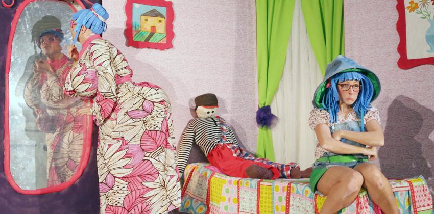 Lola Caracola una obra de teatro para niños |Sevilla con los peques