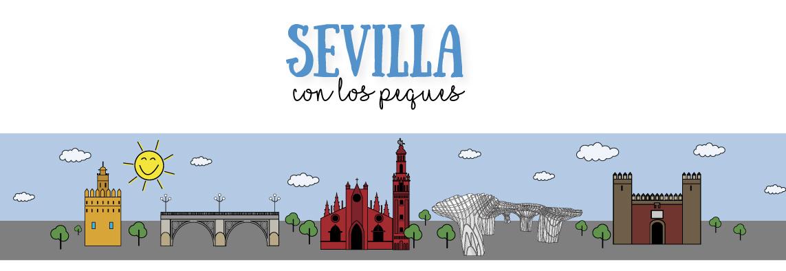 Logo Sevilla con los peques |Sevilla con los peques