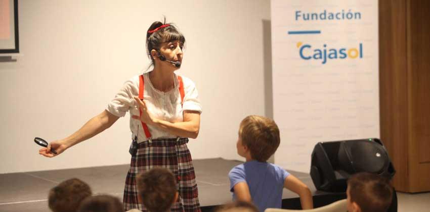 Cuentacuento La estrella Polar en Fundación Cajasol 00 | Sevilla con los peques