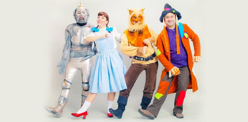 Teatro para niños Camino a Oz   Sevilla con los peques