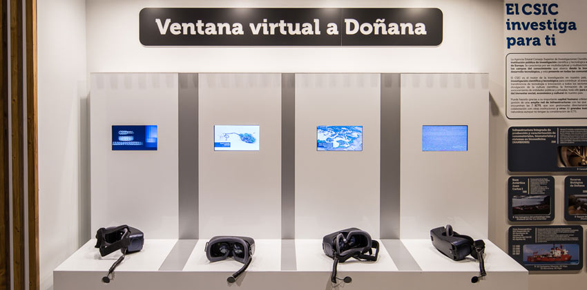Exposición del Parque de Doñana en Casa de la Ciencia ventana Virtual |Sevilla con los peques