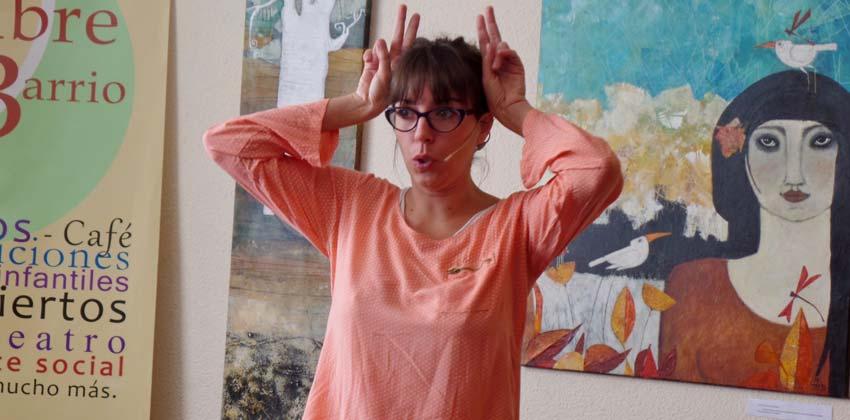 Cuentacuentos en LaSedede con Aurora Maroto | Sevilla con los peques