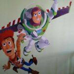 Los Murales de Mariel: Decorar con dibujos el cuarto de los niños 00   Sevilla con los peques