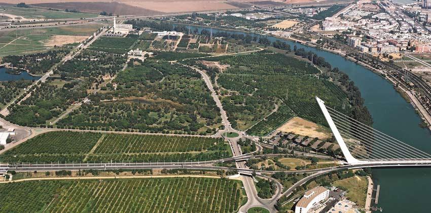 Parques de Sevilla: Parque del Alamillo |Sevilla con los peques