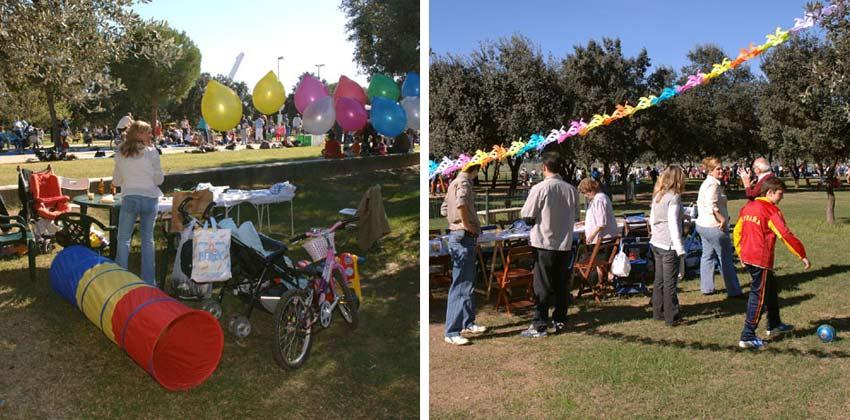 Cumpleaños en Parque del Alamillo de Sevilla | Sevilla con los peques