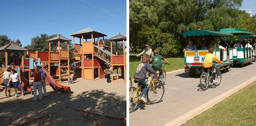 Zona de juegos del Parque del Alamillo | Sevilla con los peques