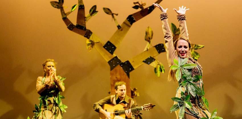 El árbol con alas, flamenco para niños | Sevilla con los peques