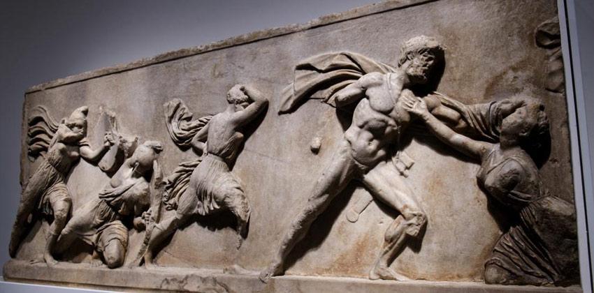 Exposición La competición en la Antigua Grecia en CaixaForum Sevilla 00 |Sevilla con los peques