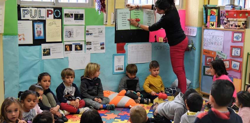 Escolarización en Andalucía segundo ciclo de educación infantil | Sevilla con los peques