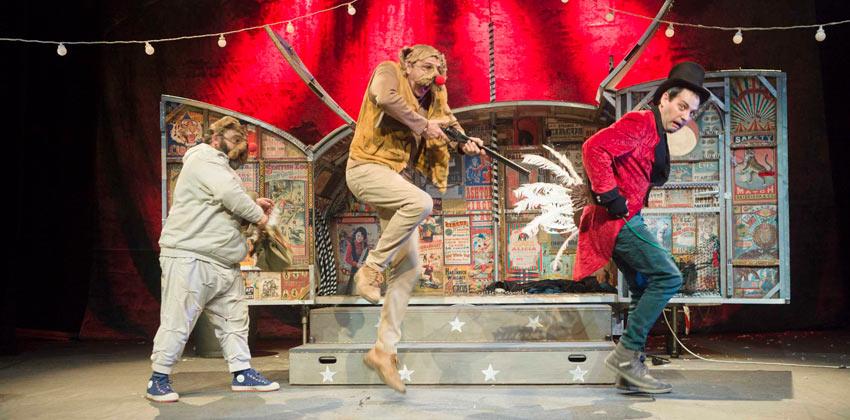 Lunáticos Circus teatro Infantil en Teatro Alameda | Sevilla con los peques