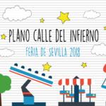 Cabecera plano calle del infierno d ela Feria de Sevilla 2018 | Sevilla con los peques