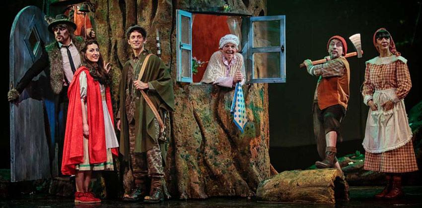 Caperucita Roja. El Musical en Sala Cero de Sevilla | Sevilla con los peques