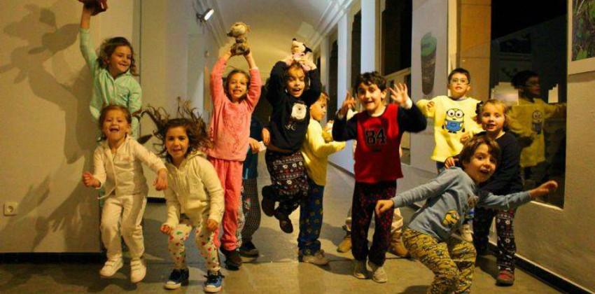 Fiesta de Pijamas en casa de la Ciencia |Sevilla con los peques