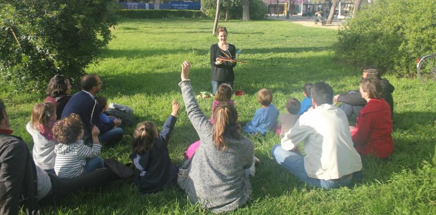Actividades en Inglés para familias con niños en diferentes espacios de Sevilla | Sevilla con los peques