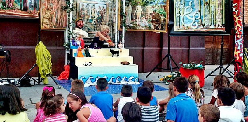 La Manzana de la discordia, teatro para niños en Antiquarium Sevilla | Sevilla con los peques