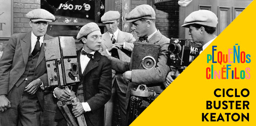 Buster Keaton en CaixaForum Sevilla con Cameraman | Sevilla con los peques
