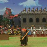 Diorama Medieval 00 en Feria de Coleccionistas de Clicks | Sevilla con los peques