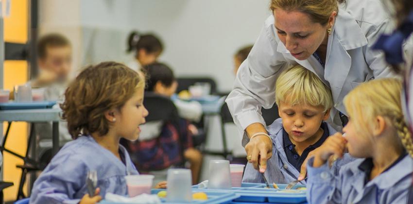 Conferencia en el colegio britanico sobre nutrición infantil | Sevilla con los peques