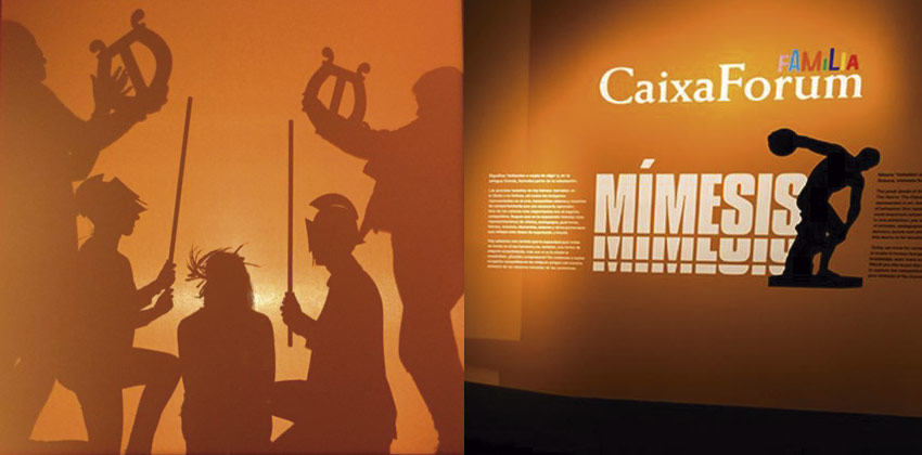 Día del Corpus en CaixaForum Sevilla con Mímesis  Sevilla con los peques