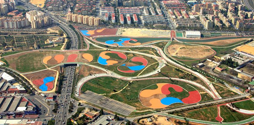 Vista aerea del Parque de Miraflores | Sevilla con los peques