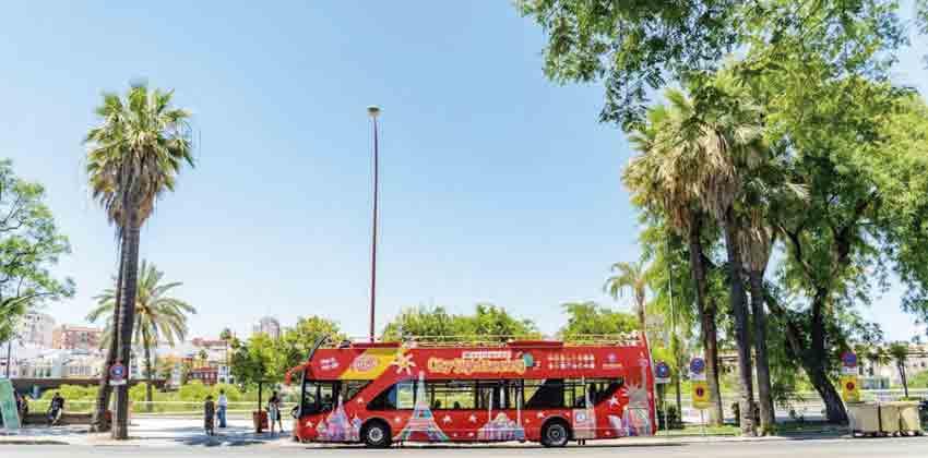 City Sightseeing Sevilla el autobús panorámico para hacer turismo por Sevilla | Sevilla con los peques