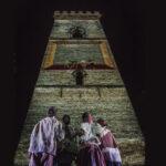 Los niños de Murillo un espectáculo de danza y mapping perspectiva con bailarines desde abajo |Sevilla con los peques