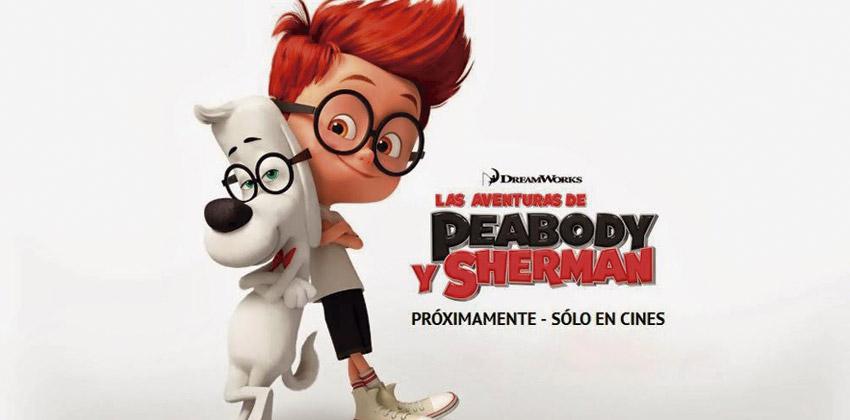 Cine de Verano: Las aventuras de Peabody y Sherman   Sevilla con los peques